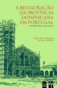 capa A Restauração da Província Dominicana